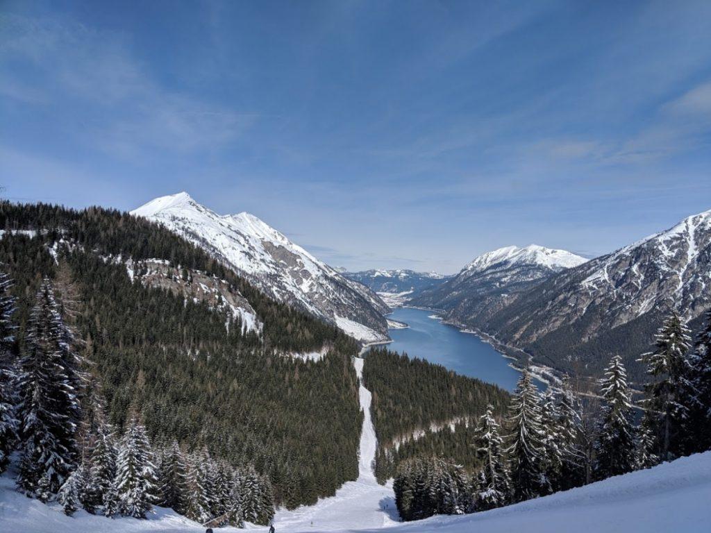 Achensee view wintersport ski
