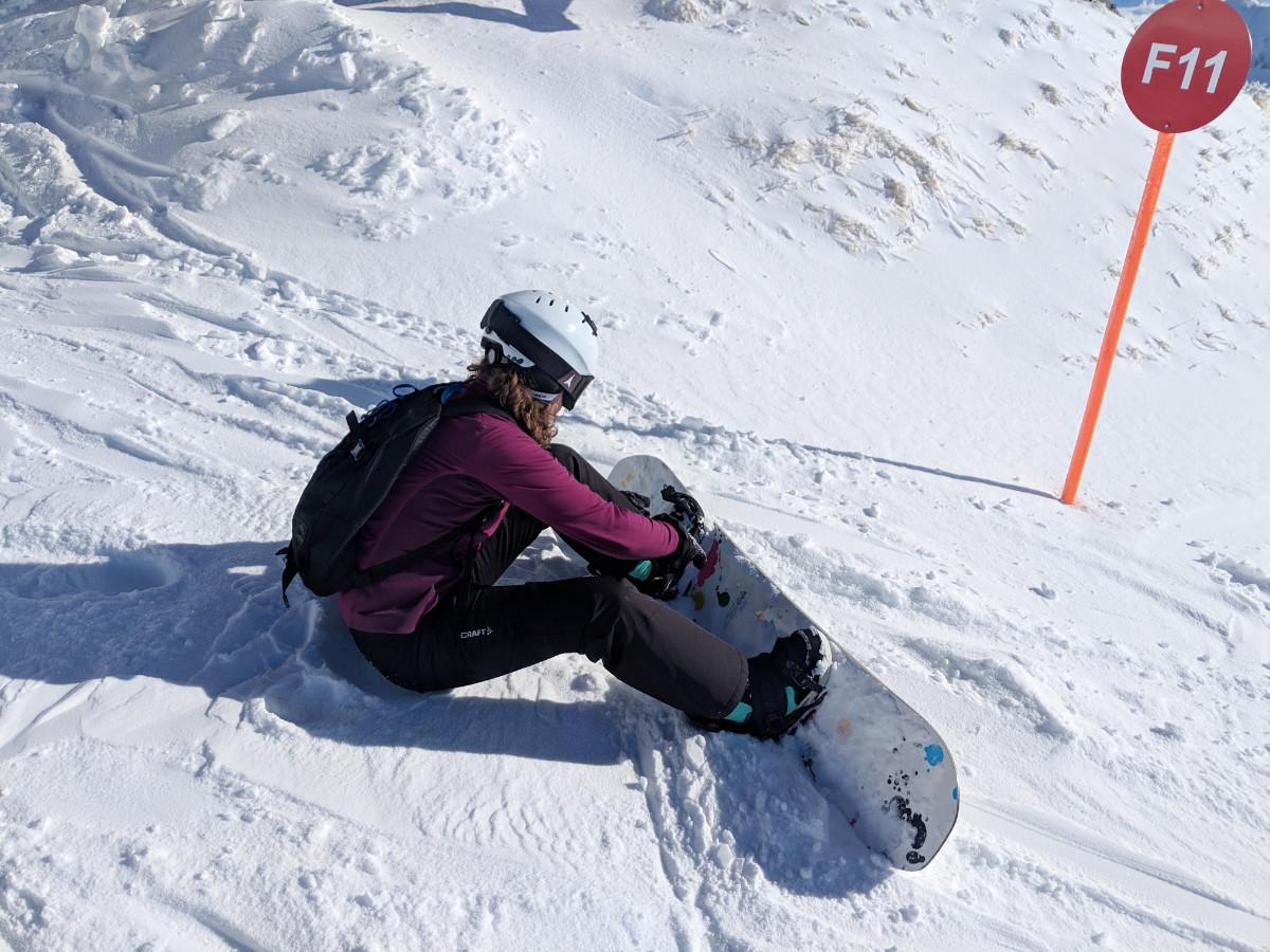 Snowboard termen