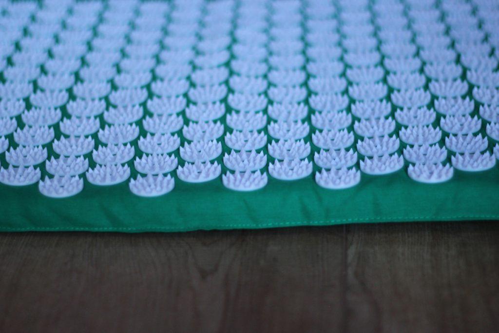 Naaldjes van de acupressuur mat